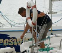 Rejs dla studentów i dorosłych turystyczny lub szkoleniowy z egzaminem na patent żeglarza, Mazury