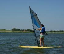 """Obóz windsurfingowy """"Z wiatrem i pod wiatr"""" na Mazurach, Ryn"""