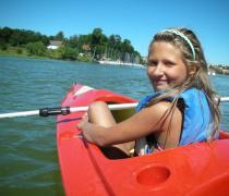 """""""Już Pływam"""" - aktywne wakacje Smyka z nauką pływania wpław - w wodzie i nad wodą, Ryn"""